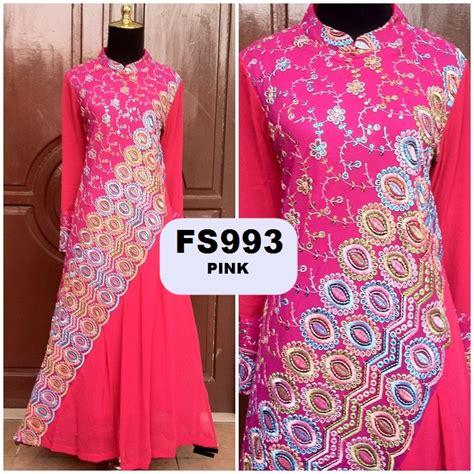 Dress Gamis Sari Fs 799 baju muslim sari india newhairstylesformen2014