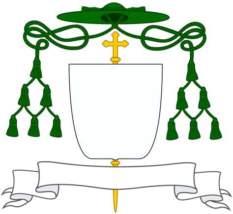 Template of bishops' coat of arms   Catholicae Ecclesiae