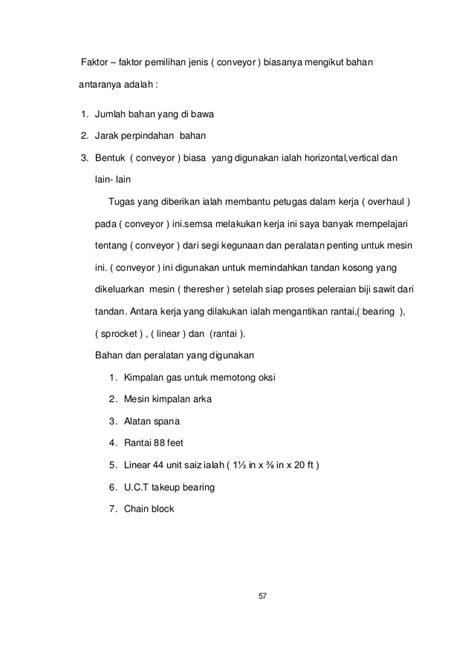 format laporan akhir pkm 2017 contoh laporan latihan industri bab 3 laporan 7
