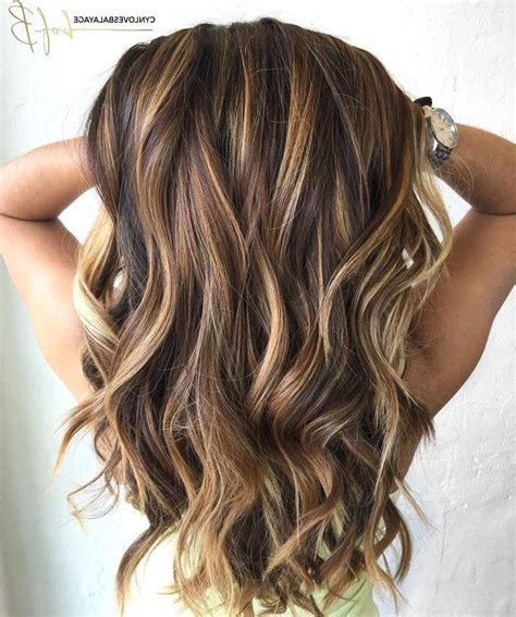 best partial caramel highlights 15 photo of highlights for long hairstyles