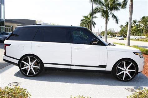 custom 2016 land rover 2016 land rover range rover supercharged lwb w 24 quot niche