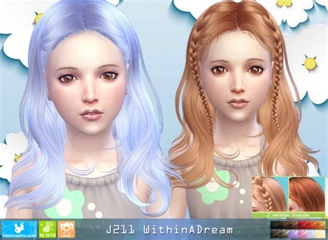 skysims hair child 188 sims 3 pinterest custom content sims 4 children hair novie s sims stuff