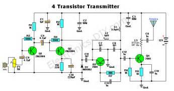 4 transistor fm transmitter