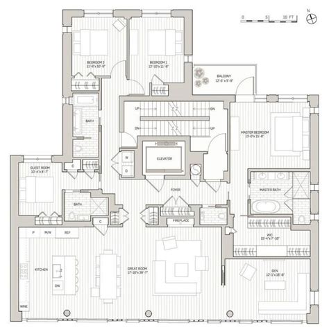 penthouse apartment floor plans 1023 best architecture images on pinterest real estates