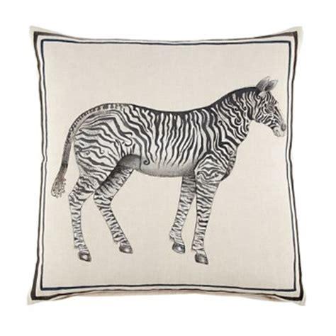 jr by john robshaw jr by john robshaw zebra decorative pillow 20 quot x 20