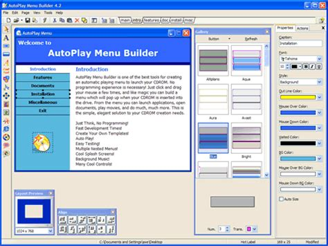 Autoplay Menu Builder Templates autoplay menu builder windows 8 downloads