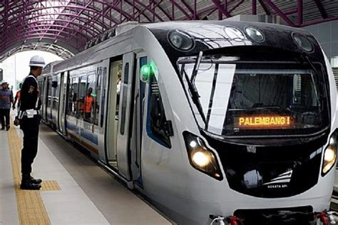 lrt palembang tak  buat asian games