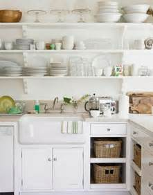 Open Kitchen Shelves With Baskets Small Space Storage 15 Creative Ideas