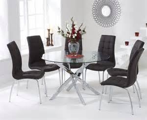 Dining Room Tables Denver by Buy The Denver 120cm Glass Dining Table With Calgary