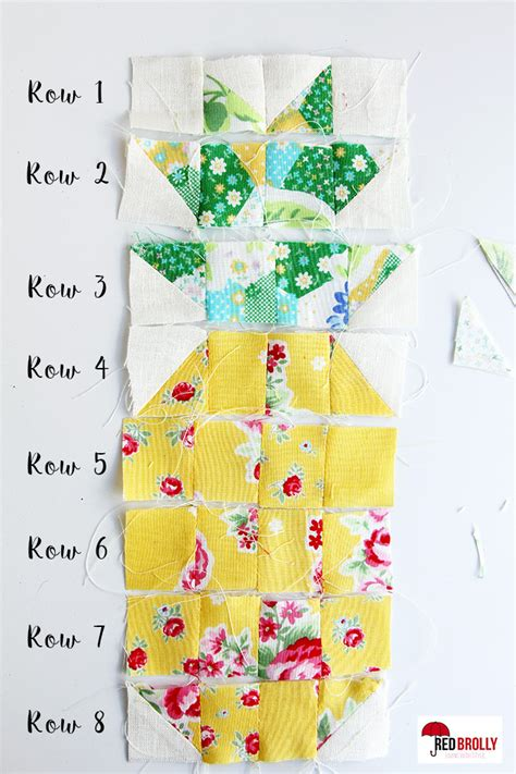 Pineapple Patchwork - pineapple quilt block quilting patchwork