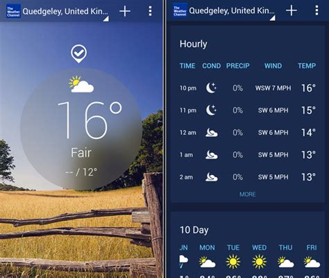 the weather channel mobile best uk weather apps top 5 downloads for android ios and