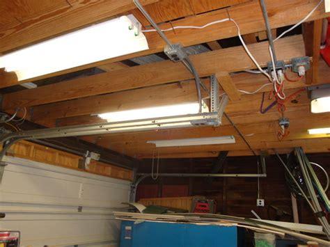 fluorescent lights for cold garage fluorescent shop light repair