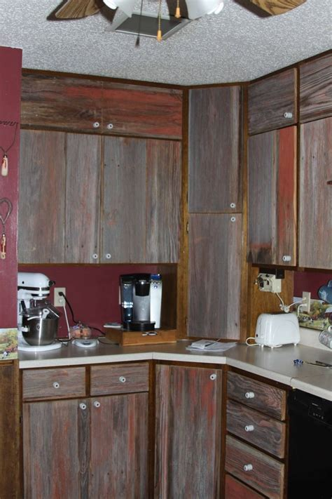 barn board kitchen cabinets barn board cabinet doors with insulators for knobs images