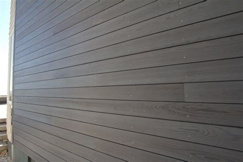 Composite Shiplap Siding time lapse of shou sugi ban installation in longport resawn timber co