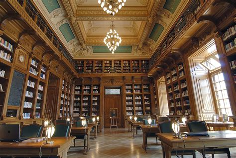 Interior Of Library by Most Beautiful Majestic Libraries In The World