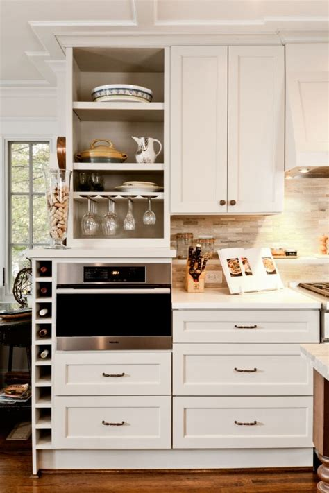 Kitchen Without Island how you can incorporate wine racks into your design