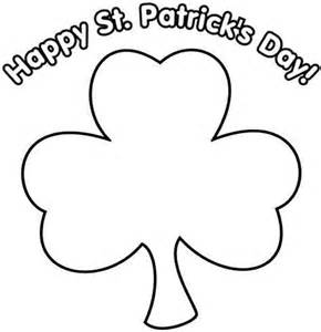 shamrock coloring page free coloring pages of shamrocks coloring home