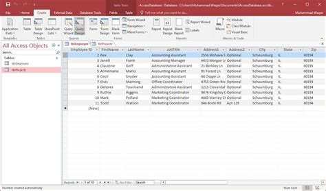 a quick tutorial on queries in microsoft access 2007 ms access quick guide