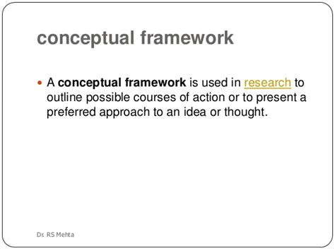 How To Make A Conceptual Framework In Research Paper - theoretical conceptual framework