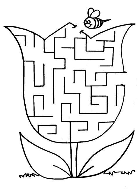 printable spring maze 1000 images about school on pinterest worksheets maze