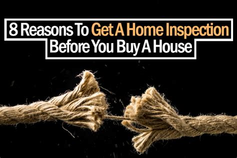 inspections before buying a house 8 reason to get a home inspection before you buy a house xavier de buck northcliff
