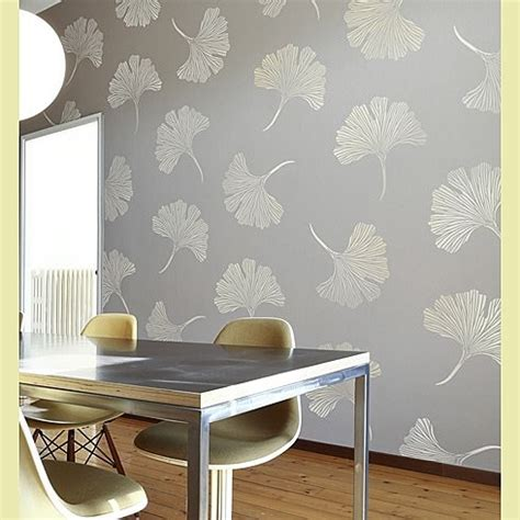 Dining Room Stencils by Stencils For Walls Bathroom Traditional With Glass Tile