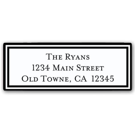Return Address Labels New Calendar Template Site Free Return Address Label