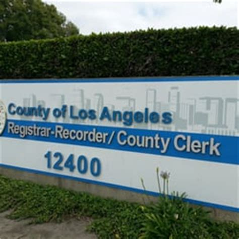 County Of Los Angeles Registrar Recorder County Clerk Birth Certificate Nuptial Bliss A Yelp List By B