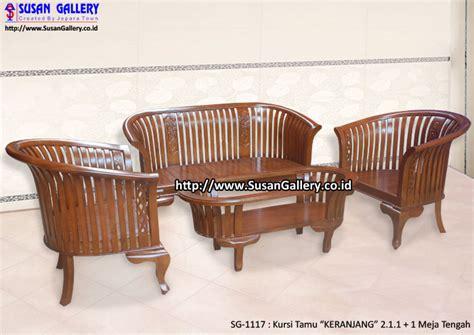 Kursi Keranjang Jepara kursi tamu jati keranjang mebel jati jepara sangat cocok