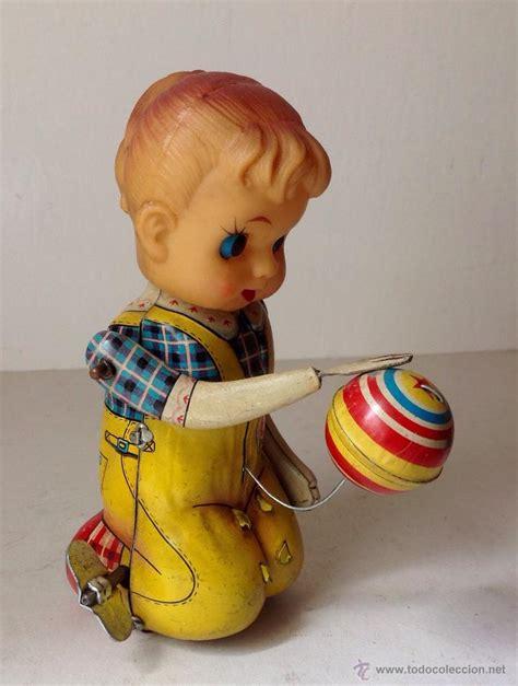 imagenes juguetes antiguos antiguo mu 241 eco de hojalata automata funciona comprar