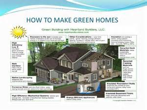 Eco Homes Plans ppt green