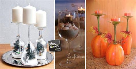 decorare bicchieri di vetro bicchieri creativi 27 creazioni originali con i bicchieri