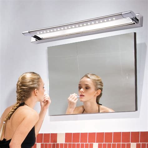 bathroom lighting for makeup bath mirror light fixtures led light bathroom light makeup lights snapped stainless