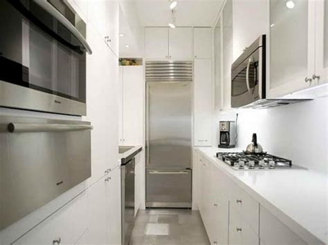 Kitchen Designs For Galley Kitchens - modern kitchen design ideas galley kitchens maximizing small spaces