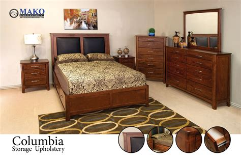 Solid Wood Bedroom Set Burnaby Custom Canadian Made Solid Wood Bedrooms Timothy Fred S