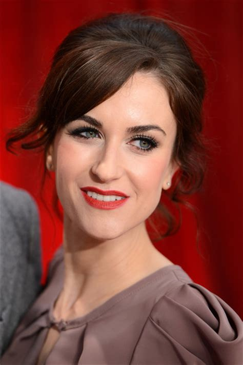 katherine kelly british actress katherine kelly pictures british soap awards 2012 red