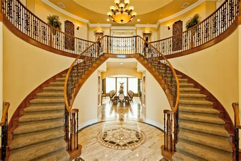 Mountain Home Design Trends double staircase chad jones photography