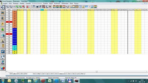 chart program program hotelowy chart hotel elektroniczna ksi苹ga