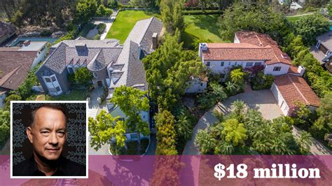 tom hanks house tom hanks seeks 18 million for side by side homes in pacific palisades la times