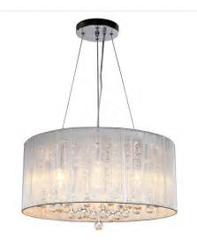 Crystal Chandelier With Black Drum Shade 1000 Images About Drum Shade Chandelier On Pinterest