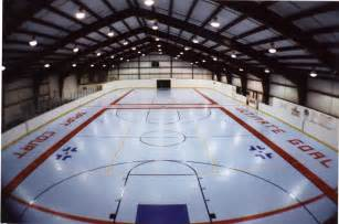 backyard inline hockey rink roller hockey courts for indoor and outdoor play sport court