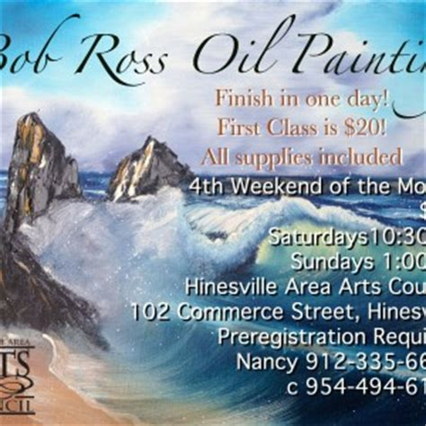 bob ross painting archive bob ross painting hinesville area arts council