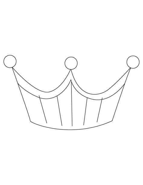 free coloring page crown crown princes coloring page coloring home