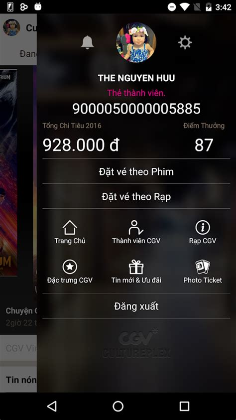 cgv app cgv rạp chiếu phim đẳng cấp android apps on google play