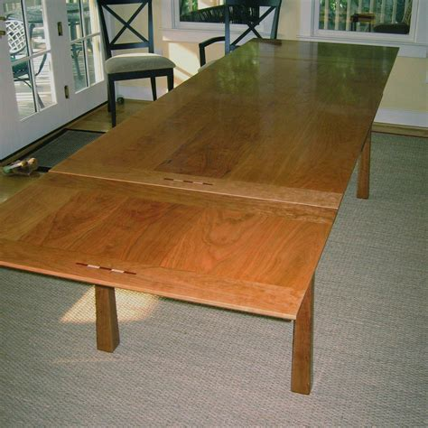 custom made dining room tables ideas for space saving extension tables made by custommade