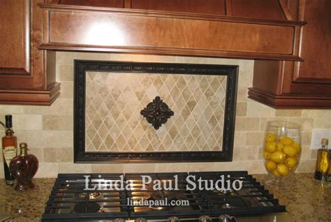 accent tiles for kitchen backsplash metal flower accent tiles for kitchen backsplashes