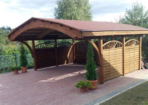 tettoia chiusa tettoia in legno lamellare addossata con tende a chiusura