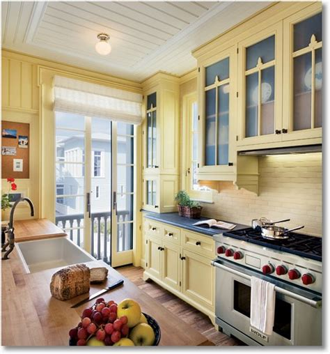 pale yellow kitchen colorful kitchens still my dream