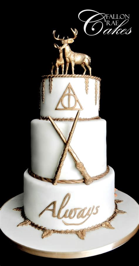 Lord Of The Rings Home Decor by Harry Potter Wedding Cake Cakecentral Com