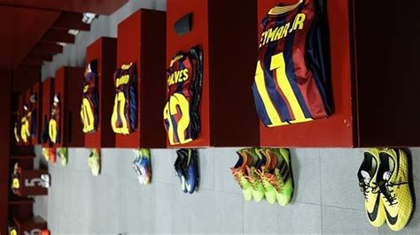 Barcelona Fc Room by Fc Barcelona Dressing Room Uefa Chions League Nav Uefa
